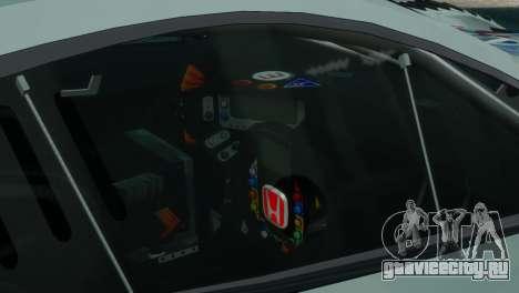 Honda HSV-010 GT для GTA 4 вид сзади слева