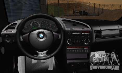 BMW M3 E36 1994 для GTA San Andreas вид сбоку