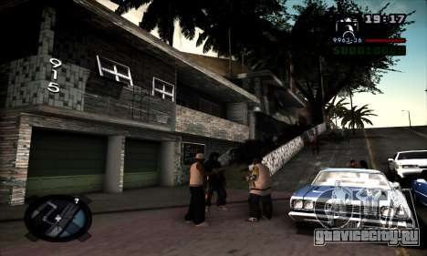 Ghetto ENB для GTA San Andreas второй скриншот