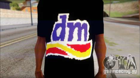 DM T-Shirt Drogerie Market для GTA San Andreas третий скриншот