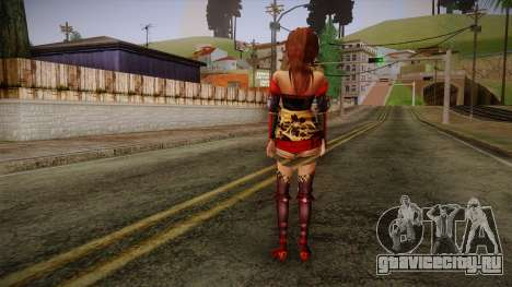 Kai from Samurai Warriors 3 для GTA San Andreas второй скриншот