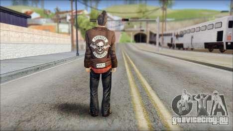 Biker from Avenged Sevenfold 3 для GTA San Andreas второй скриншот