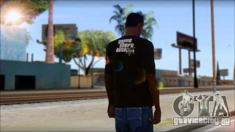 GTA 5 T-Shirt для GTA San Andreas второй скриншот