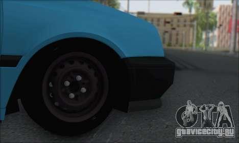Volksvagen Golf Mk3 для GTA San Andreas вид справа