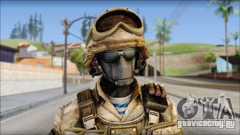 Desert GRU from Soldier Front 2 для GTA San Andreas третий скриншот