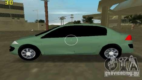 Renault Megane Sedan 2001 для GTA Vice City вид слева