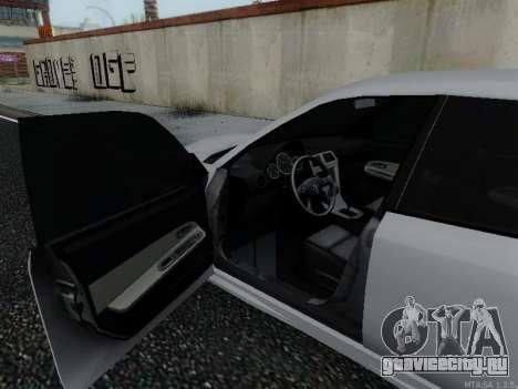SAAB 9-2 Aero Turbo для GTA San Andreas вид сзади