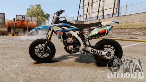 Yamaha YZF-450 v1.9 для GTA 4 вид слева