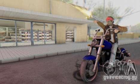 Biker A7X 2 для GTA San Andreas пятый скриншот