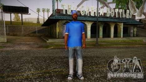 Sweet Blue Skin для GTA San Andreas
