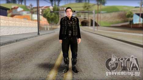 Till Lindemann Skin для GTA San Andreas