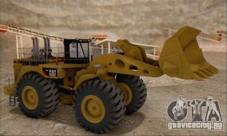 Caterpillar 994F для GTA San Andreas вид справа