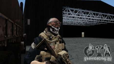 Army Ghost v2 для GTA San Andreas