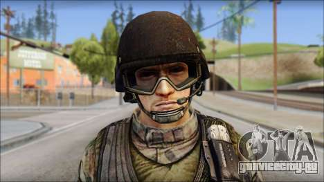 Forest GROM from Soldier Front 2 для GTA San Andreas третий скриншот