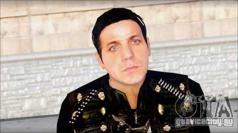 Till Lindemann Skin для GTA San Andreas третий скриншот