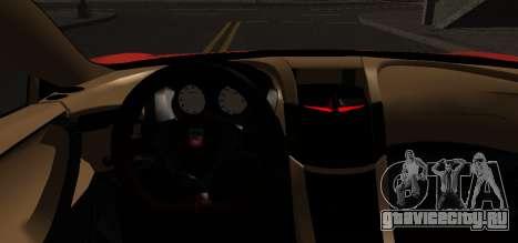 Spano Black для GTA San Andreas вид сзади слева