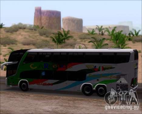 Marcopolo Paradiso G7 1800 DD 6x2 Scania K420 для GTA San Andreas вид изнутри