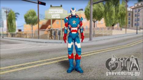 Iron Patriot для GTA San Andreas