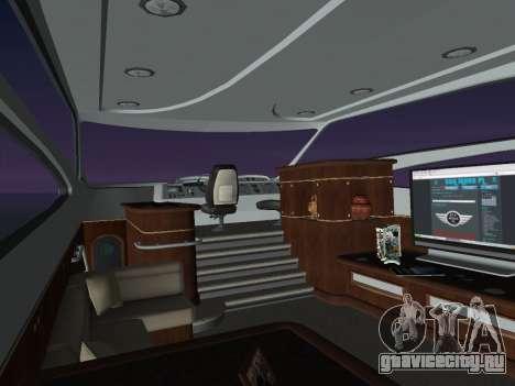 Яхта для GTA Vice City вид справа