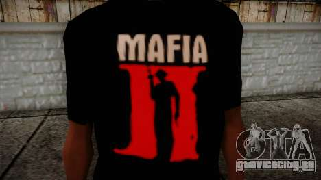Mafia 2 Black Shirt для GTA San Andreas третий скриншот
