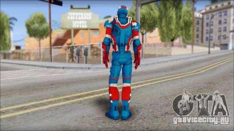 Iron Patriot для GTA San Andreas второй скриншот