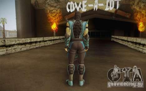 Sub Zero Skin v2 для GTA San Andreas второй скриншот