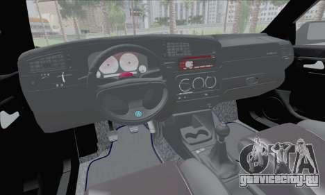 Volksvagen Golf Mk3 для GTA San Andreas вид сзади