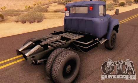 ЗиЛ 130В для GTA San Andreas вид сзади