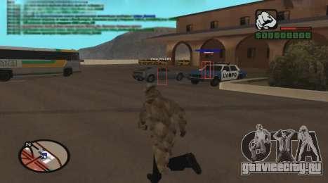 ESP для GTA San Andreas