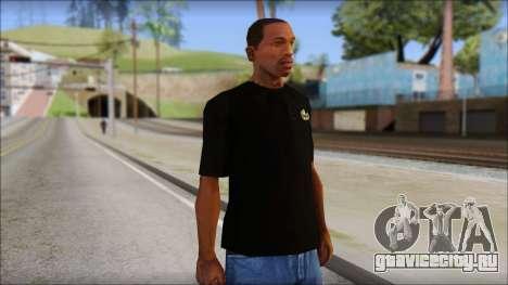 Black Izod Lacoste T-Shirt для GTA San Andreas