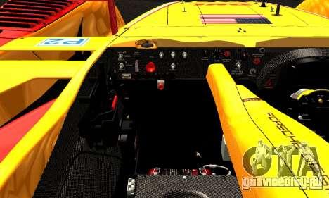 Porsche RS Spyder Evo 2008 для GTA San Andreas вид сбоку