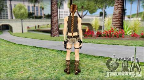 Best Lara Croft для GTA San Andreas второй скриншот