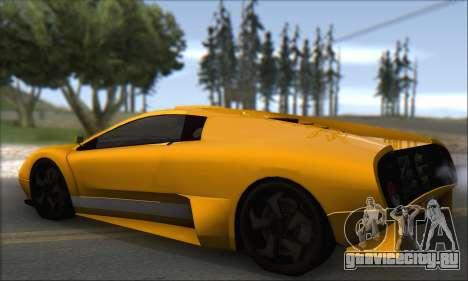Pegassi Infernus для GTA San Andreas вид справа