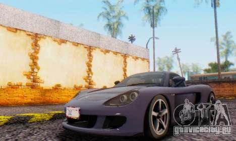 Porsche Carrera GT 2005 для GTA San Andreas