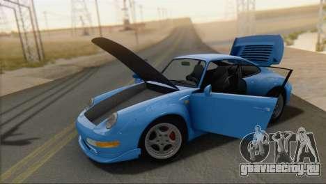 Porsche 911 GT2 (993) 1995 V1.0 SA Plate для GTA San Andreas вид справа