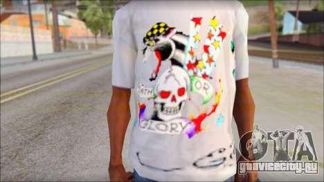 Ed Hardy T-Shirt для GTA San Andreas третий скриншот