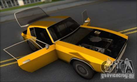 Jensen Intercepter 1971 Fast And Furious 6 для GTA San Andreas вид сзади