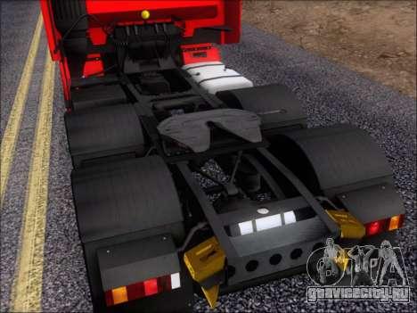Iveco Stralis HiWay 560 E6 6x4 для GTA San Andreas вид снизу