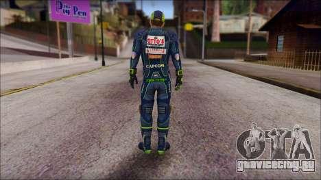Piers Azul Gorra для GTA San Andreas второй скриншот