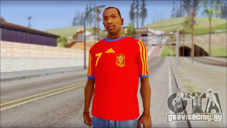 Spanish Football Shirt для GTA San Andreas
