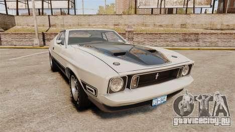Ford Mustang Mach 1 1973 v3.0 GCUCPSpec Edit для GTA 4