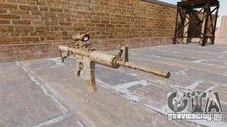 Автоматический карабин М4А1 Figure beige Camo для GTA 4