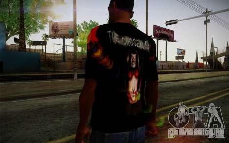 Uchiha Itachi T-Shirt для GTA San Andreas третий скриншот