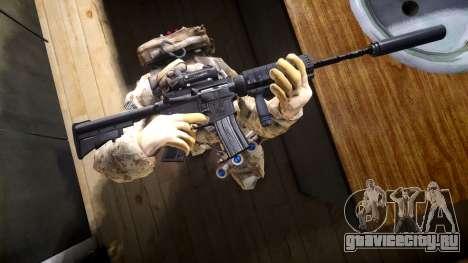 M4A1 V1.1 для GTA 4