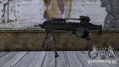 XM8 LMG Black для GTA San Andreas