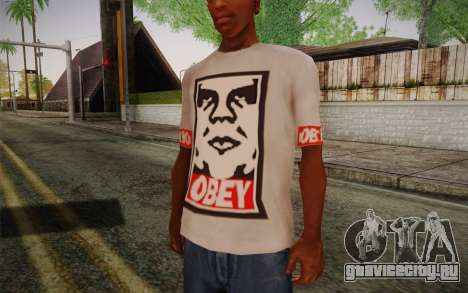 Obey Shirt для GTA San Andreas