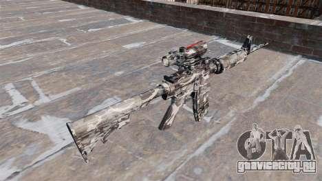 Автоматический карабин М4А1 City Camo для GTA 4 второй скриншот