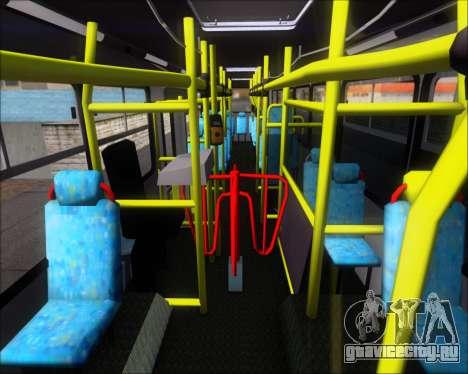 Neobus Mega IV - TCA (Araras) для GTA San Andreas вид сбоку