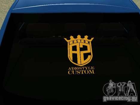 Lada Granta Liftback для GTA San Andreas вид изнутри