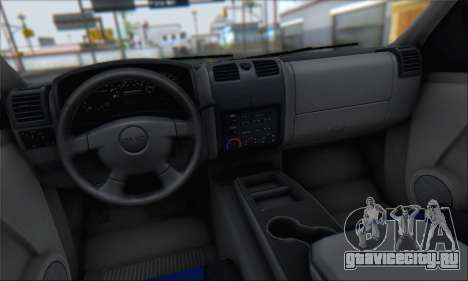 Chevrolet Colorado Cleaning для GTA San Andreas вид сбоку